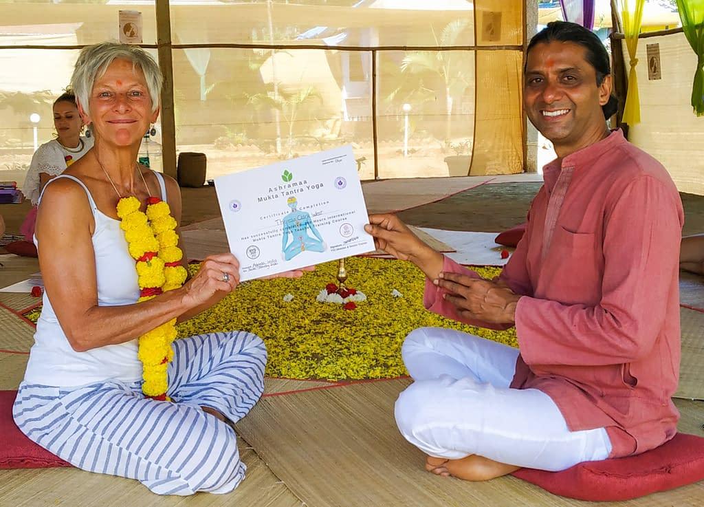 tantra yoga training